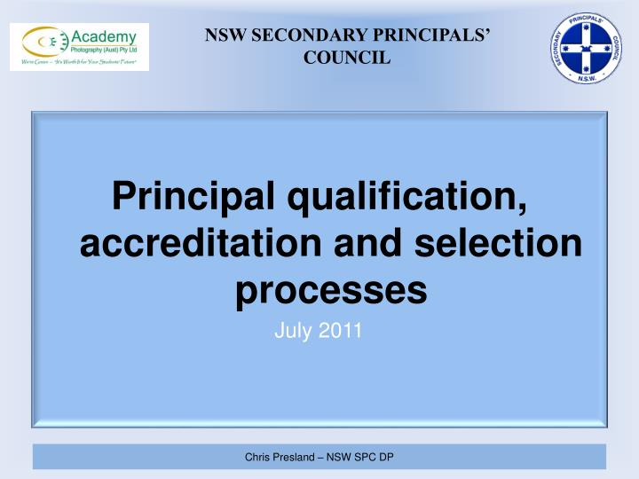 Nsw secondary principals council