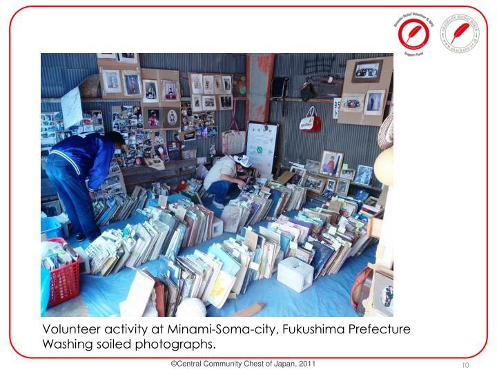 Volunteer activity at Minami-Soma-city, Fukushima Prefecture