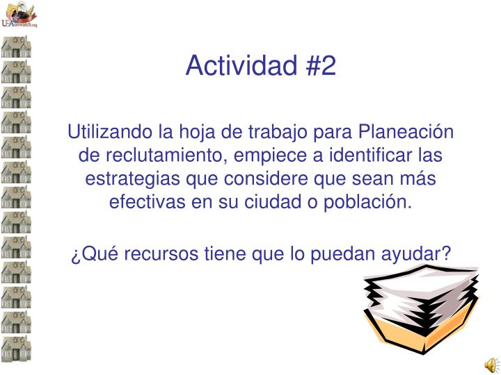 Actividad #2