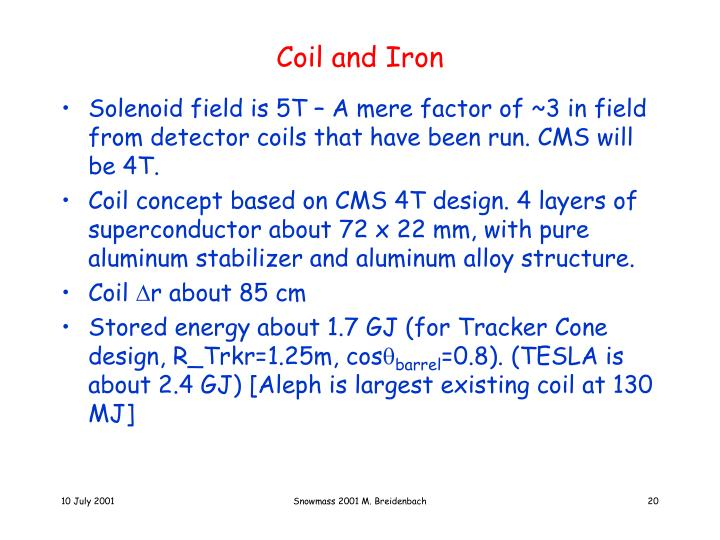 Coil and Iron