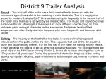 district 9 trailer analysis