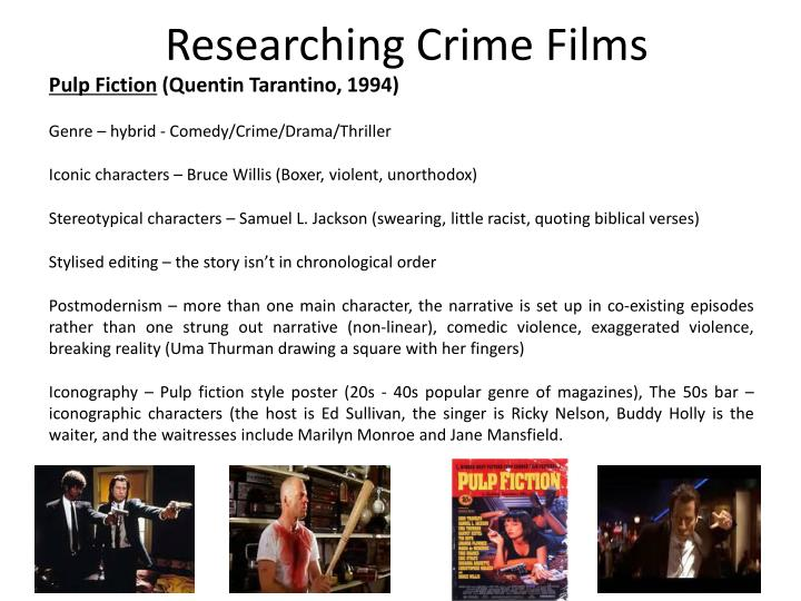 Researching Crime Films