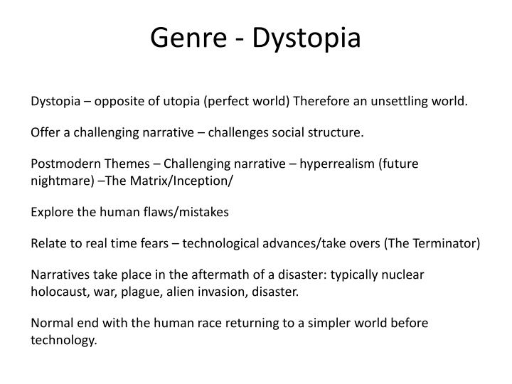 Genre - Dystopia
