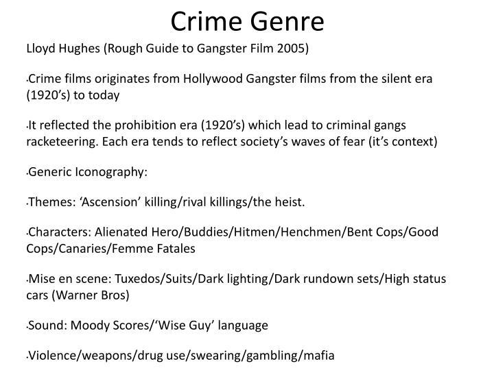 Crime Genre