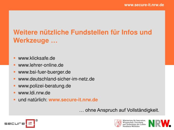 www.secure-it.nrw.de