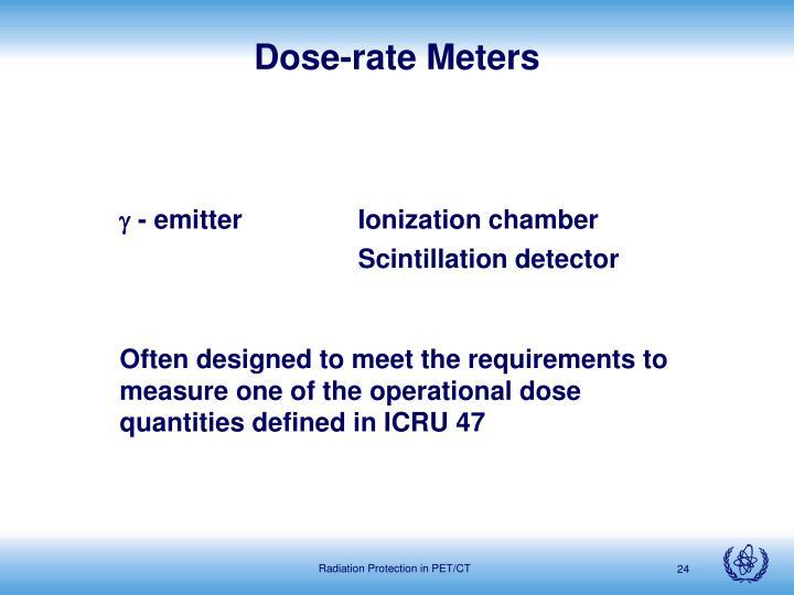 Dose-rate Meters
