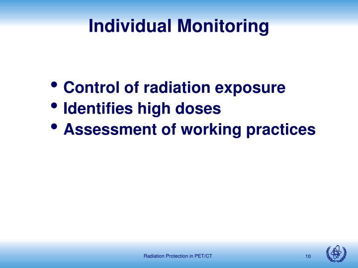 Individual Monitoring