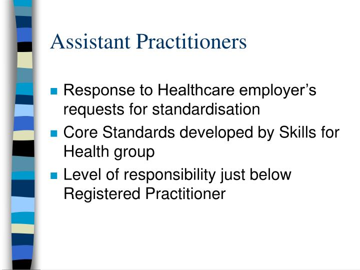 Assistant Practitioners