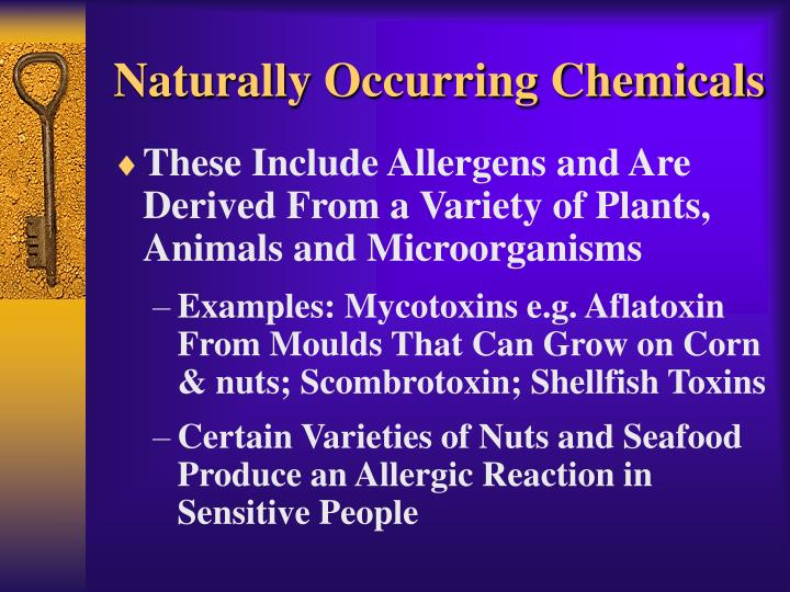 Naturally Occurring Chemicals