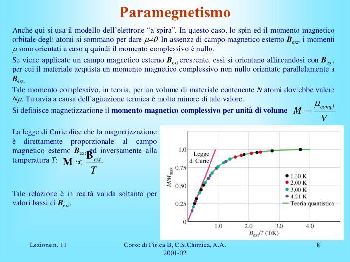 Paramegnetismo