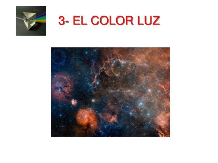 3- EL COLOR LUZ