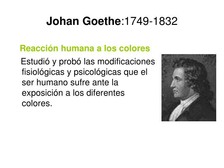 Johan Goethe