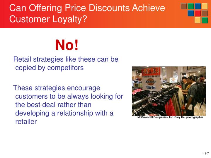 Can Offering Price Discounts Achieve