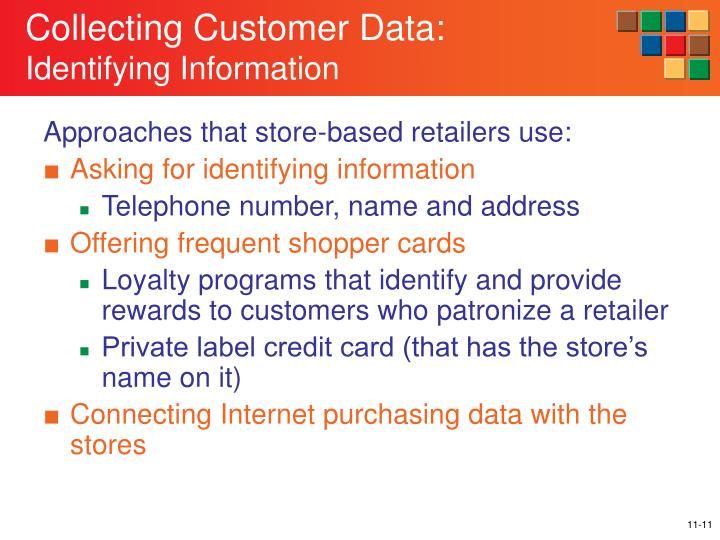 Approaches that store-based retailers use: