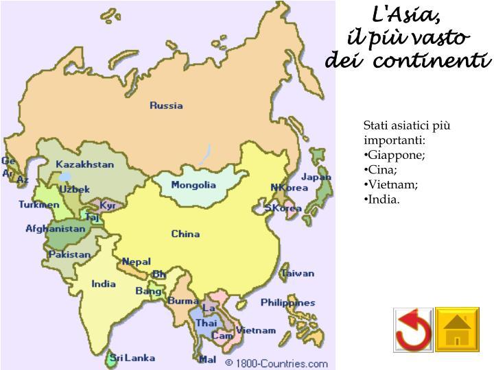 L'Asia,