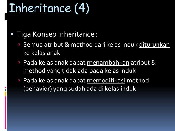 Inheritance (4)