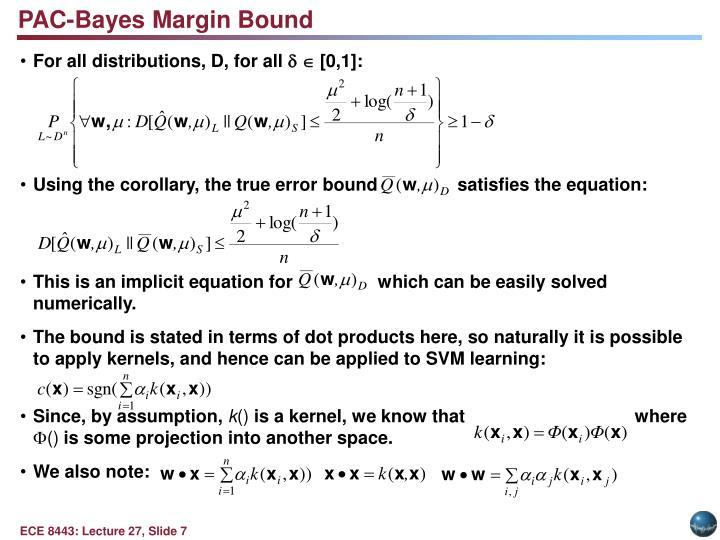 PAC-Bayes Margin Bound