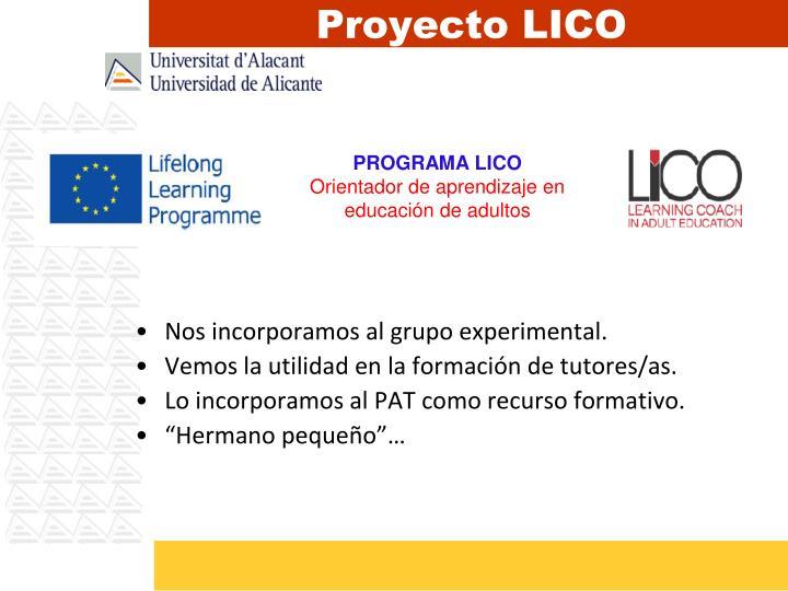 Proyecto LICO