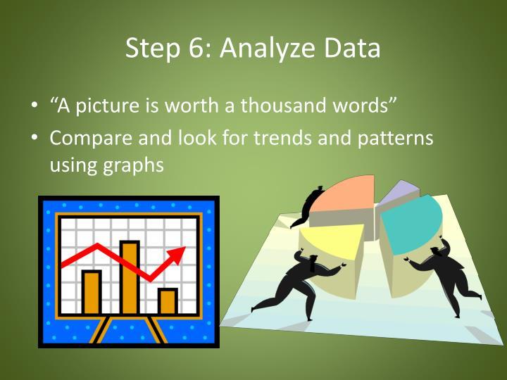Step 6: Analyze Data