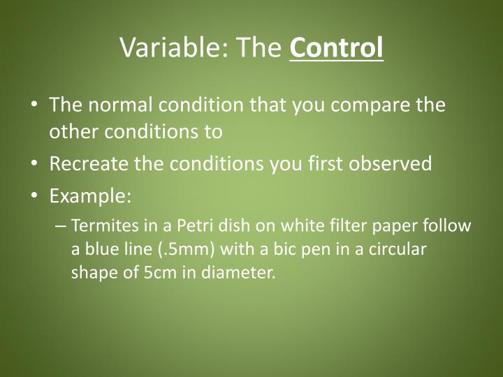 Variable: The