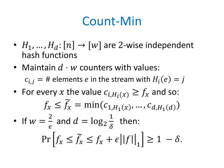 Count-Min