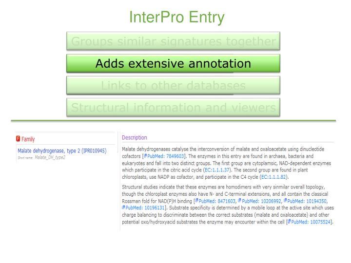 InterPro Entry