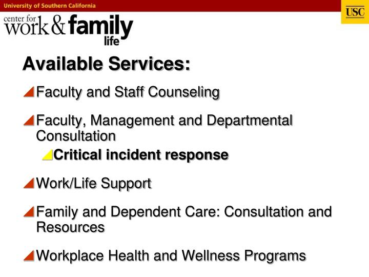Center for work and family life