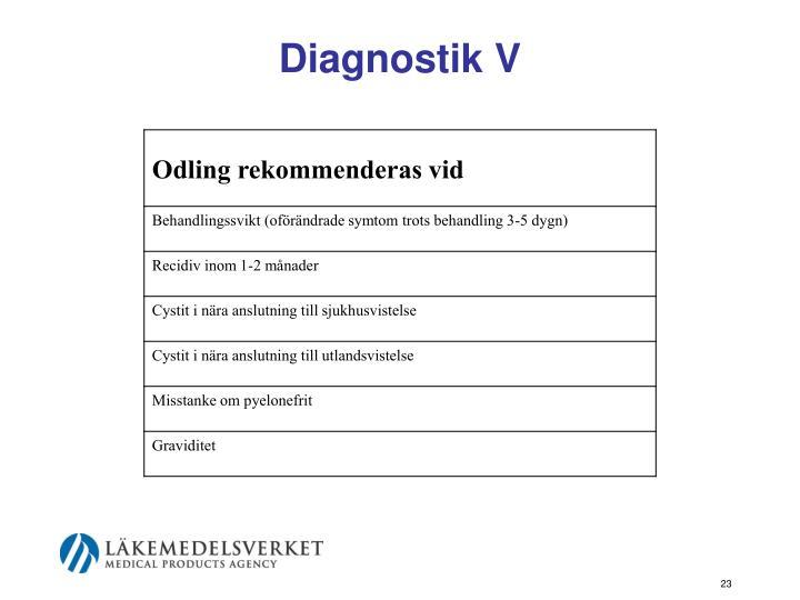 Diagnostik V