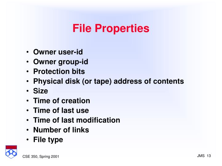 File Properties