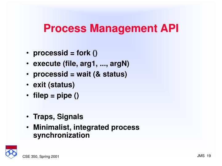 Process Management API