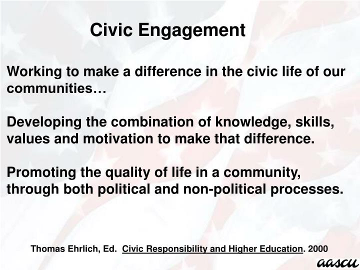 Civic Engagement