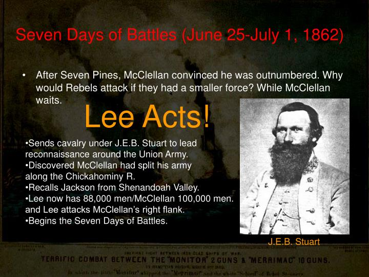 Seven Days of Battles (June 25-July 1, 1862)