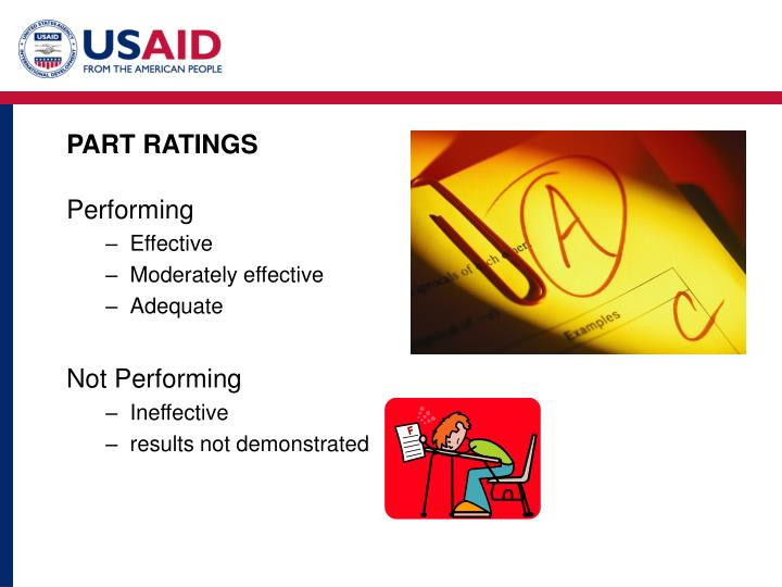 PART RATINGS