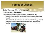 forces of change1