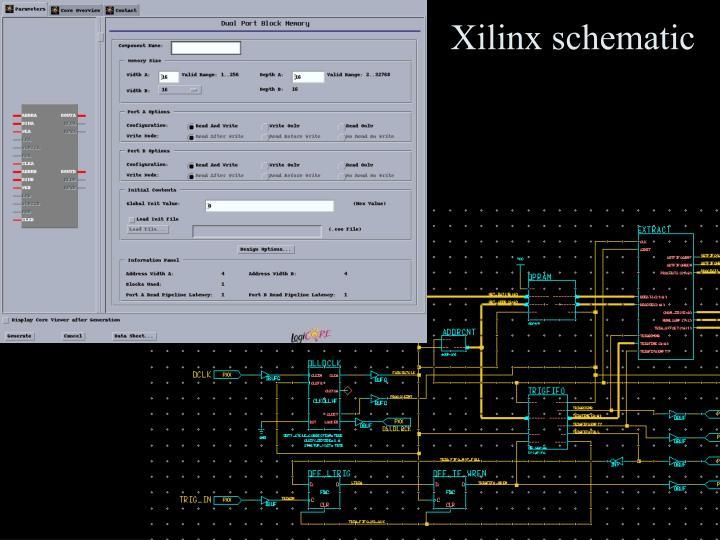 Xilinx schematic