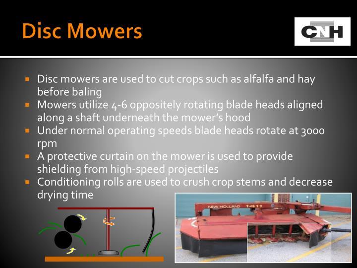 Disc Mowers