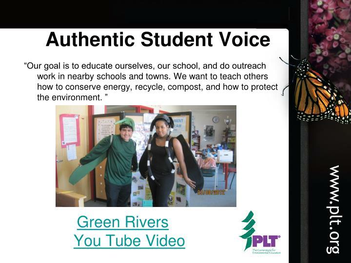 Authentic Student Voice