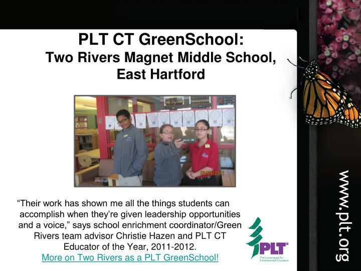 PLT CT GreenSchool: