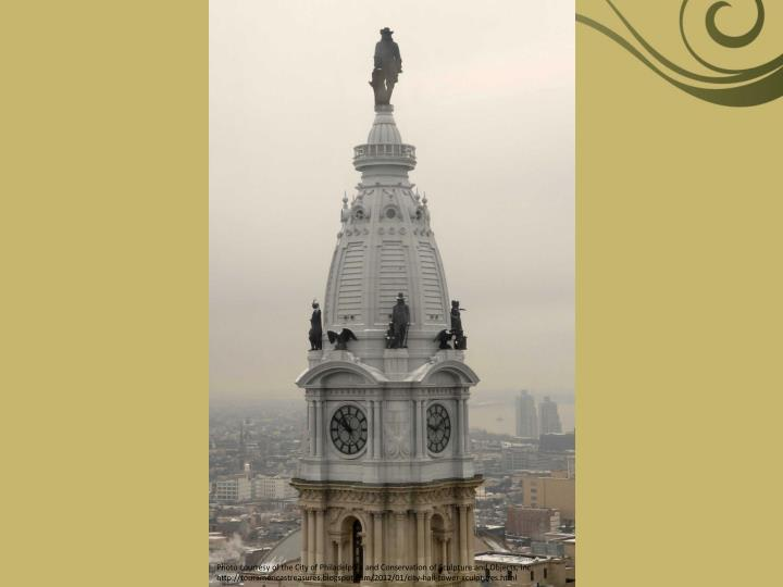 Photo courtesy of the City of Philadelphia and Conservation of Sculpture and Objects, Inc.