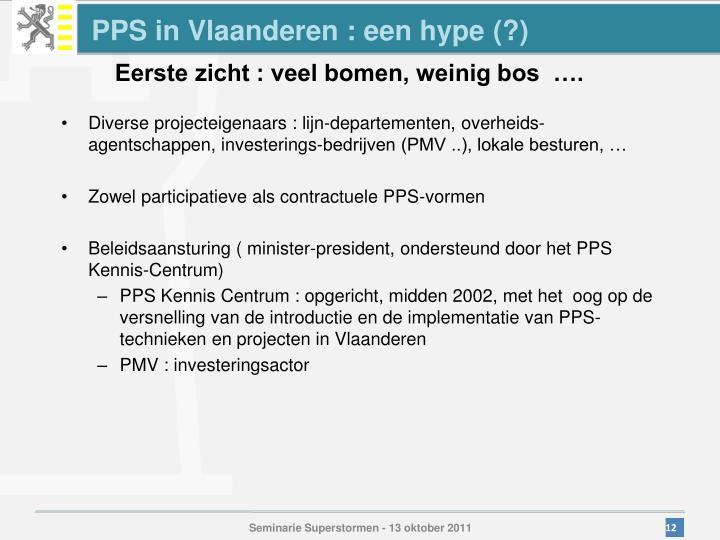 PPS in Vlaanderen : een hype (?)