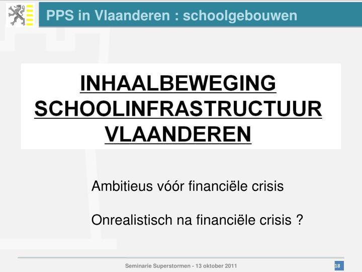 PPS in Vlaanderen : schoolgebouwen