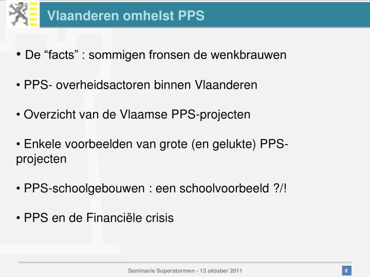 Vlaanderen omhelst PPS