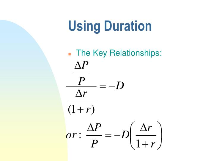 Using Duration