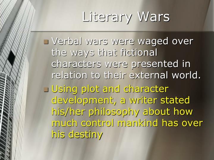 Literary Wars