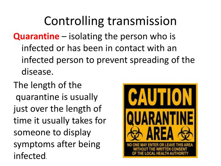 Controlling transmission