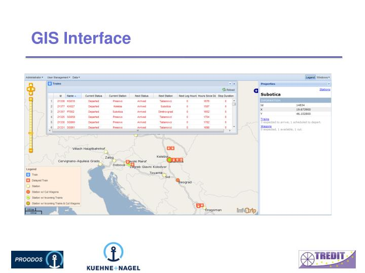 GIS Interface