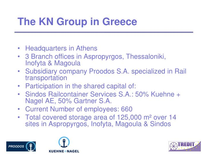 The KN Group in Greece