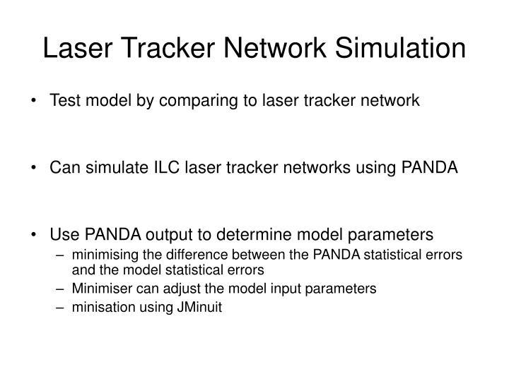 Laser Tracker Network Simulation