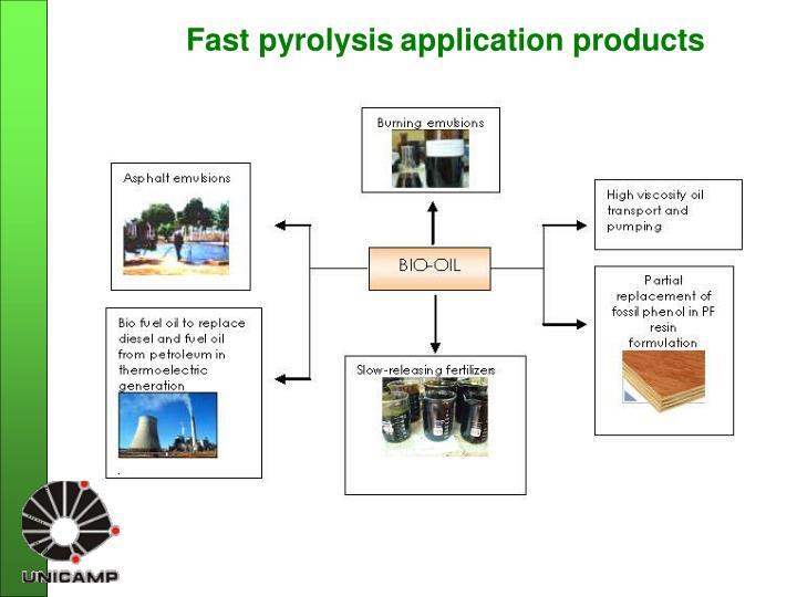Fast pyrolysis