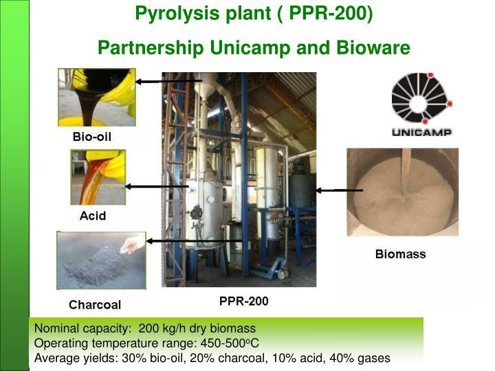 Pyrolysis plant ( PPR-200)